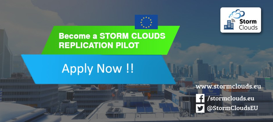 Become a STORM CLOUDS REPLICATION PILOT. Apply Now!